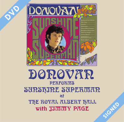 Donovan at The Royal Albert Hall SIGNED square 3