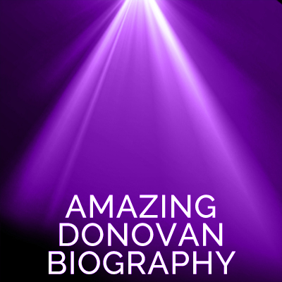 amazing donovan biography