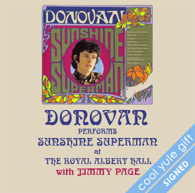 Donovan at The Royal Albert Hall SIGNED square