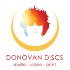 Logo Donovan Discs audio video print p